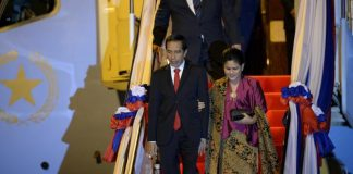 Hadiri KTT ASEAN, Presiden Jokowi Tiba di Laos