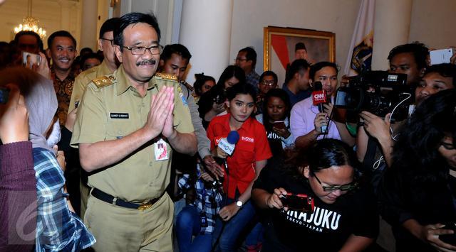 Gubernur Djarot Saiful Hidayat