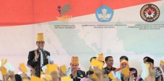 Presiden Jokowi: Jangan Ada Lagi Anak Putus Sekolah di Indonesia