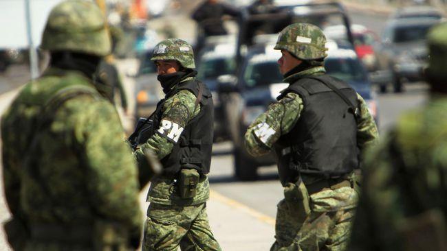 Gelombang kekerasan di Meksiko tewaskan 20 orang dalam 24 jam terakhir