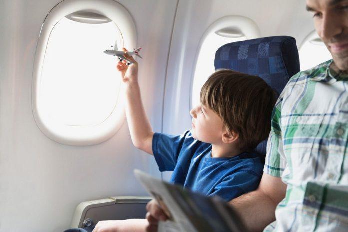 Ilustrasi mudik bersama anak-anak