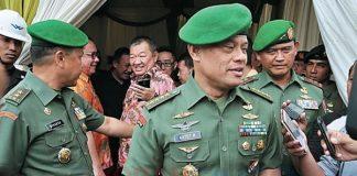 Panglima TNI Jenderal Gatot Nurmantyo di DPR RI,