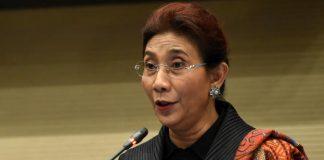 Menteri Kelautan dan Perikanan (KKP) Susi Pudjiastuti