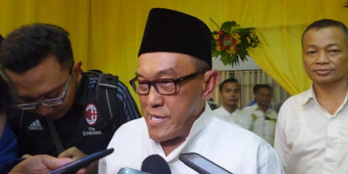 Aburizal Bakrie Ketua Dewan Pembina Partai Golkar.