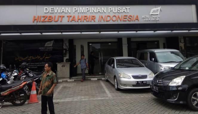 Kantor Hizbut Tahrir Indonesia (HTI) di Tebet, Jakarta Selatan.