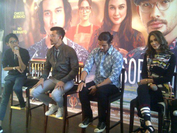 Filosofi Kopi 2: Ben & Jody, Gala Premier Di Surabaya
