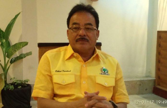 Bendahara Umum Partai Golkar Robert Joppy Kardinal