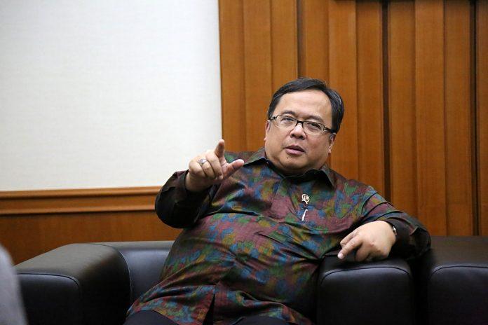 Menteri Perencanaan Pembangunan Nasional atau Kepala Bappenas Bambang Brodjonegoro