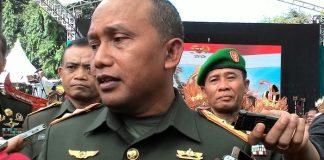 Pangdam IX/Udayana Mayor Jenderal TNI Kustanto Widiatmoko