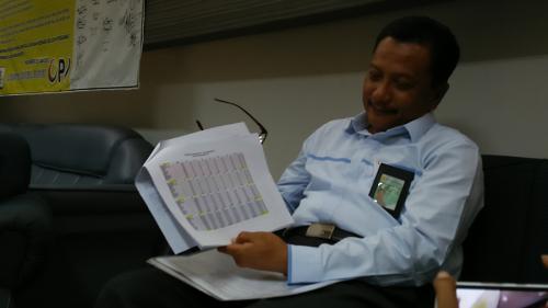 Asisten Manager Transkasi Energi, PLN Area Mojokerto, Ansori