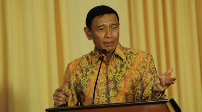 Menteri Koordinator Bidang Politik, Hukum, dan Keamanan Wiranto