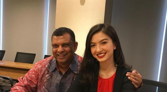 Raline Shah dan Tony Fernandez