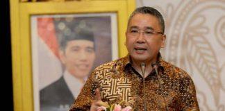 Menteri Desa, Pembangunan Daerah Tertinggal dan Trasmigrasi Eko Putro Sandjojo
