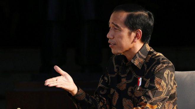 Presieden Jokowi.