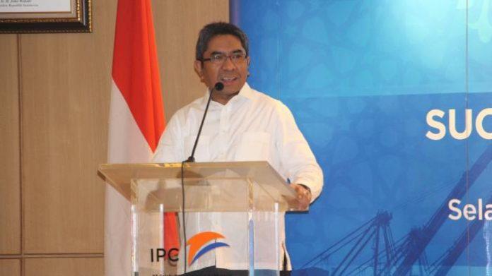 Direktur Utama PT Pelabuhan Indonesia II Elvyn G. Masassya