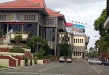 Gedung DPRD Surabaya.