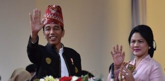 Joko Widodo Presiden dan Ibu Negara Iriana Joko Widodo