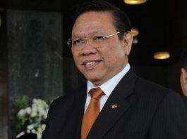 Mantan Ketua DPR Agung Laksono