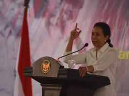 Menteri Badan Usaha Milik Negara ( BUMN) Rini M Soemarno