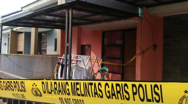 Rumah kontrakan Pegawai BNN Indria Kameswari