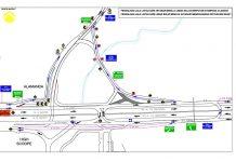 Rekayasa arus lalu lintas terkait pembangunan Tol Depok-Antasari.
