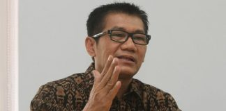 Ketua Pansus Hak Angket KPK Agun Gunanjar