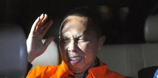 Rudi Indraprasetya Kepala Kejaksaan Negeri Pamekasan, usai diperiksa Penyidik KPK