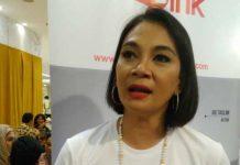 Dian Nitami ketika ditemui di Grand Indonesia, Tanah Abang, Jakarta Pusat