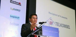 Direktur Utama Telkom Alex J. Sinaga
