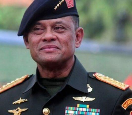 Panglima TNI Jenderal Gatot Nurmatyo