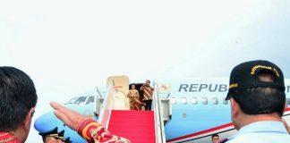 Joko Widodo Presiden, Rabu (6/9/2017) bertolak menuju Singapura melalui Pangkalan TNI AU Halim Perdanakusuma Jakarta