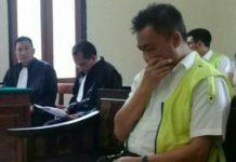 Rahmat Satria, terdakwa kasus pungli Dwelling Time di Pelabuhan Tanjung Perak