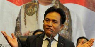 Ketua Umum Partai Bulan Bintang (PBB) Yusril Ihza Mahendra