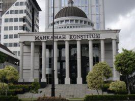 Gedung MK di Jalan Medan Merdeka Barat, Jakarta