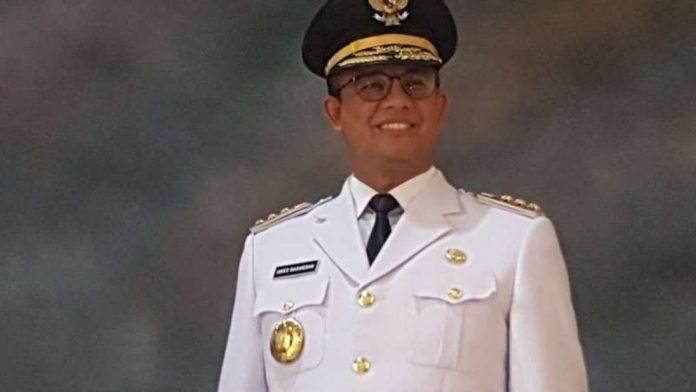 Gubernur DKI Jakarta terpilih Anies Baswedan