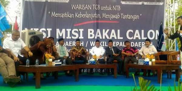 Nama H Faozan Khalid dicoret oleh DPD Demokrat Nusa Tenggara Barat dari bursa bakal calon kepala daerah