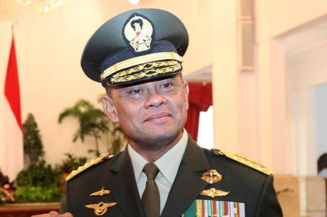 Jenderal Gatot Nurmantyo Panglima TNI,