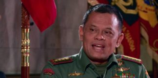 Panglima TNI, Jenderal Gatot Nurmantyo.