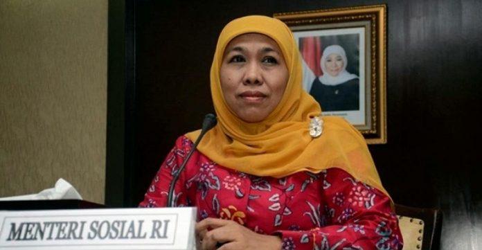 Menteri Sosial (Mensos) RI Khofifah Indar Parawansa.