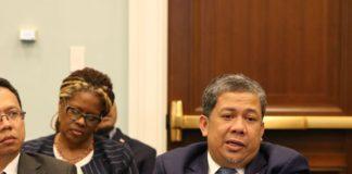 Wakil Ketua DPR Fahri Hamzah memimpin delegasi parlemen Indonesia bertemu beberapa pihak dan institusi di Amerika Serikat