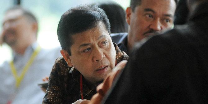 Ketua Umum Partai Golkar, Setya Novanto.