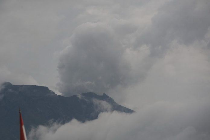 Status Gunung Agung.