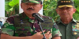Panglima TNI Marsekal Hadi Tjahjanto hadiri Apel Operasi Lilin 2017