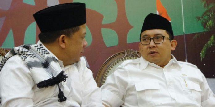 Fahri Hamzah dan Fadli Zon.