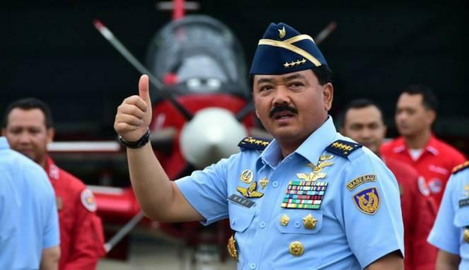 Panglima TNI Marsekal Hadi.