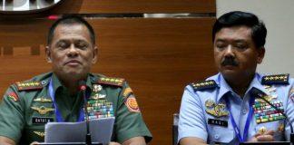 Jenderal Gatot dan Marsekal Hadi.