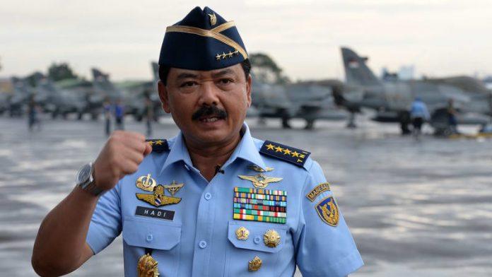 KSAU, Marsekal TNI Hadi Tjahjanto