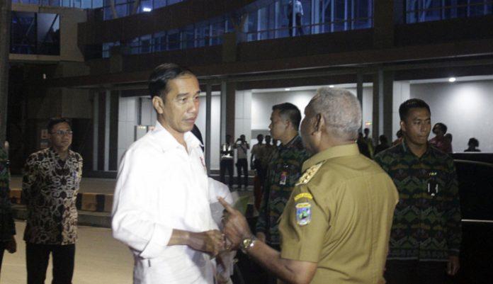 Presiden Joko Widodo (Jokowi) Hadir di Nabire, Papua.