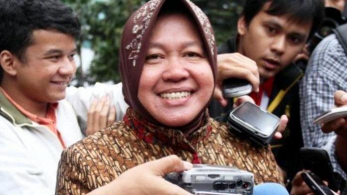 Walikota Surabaya Tri Rismaharini.