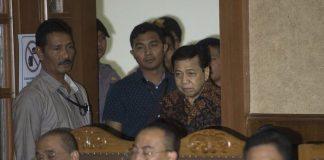 Setya Novanto menjalani sidang lanjutan di Pengadilan Tipikor Jakarta